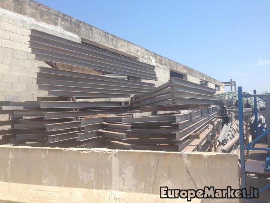 capannone industriale in ferro zincato 1200mq europe market
