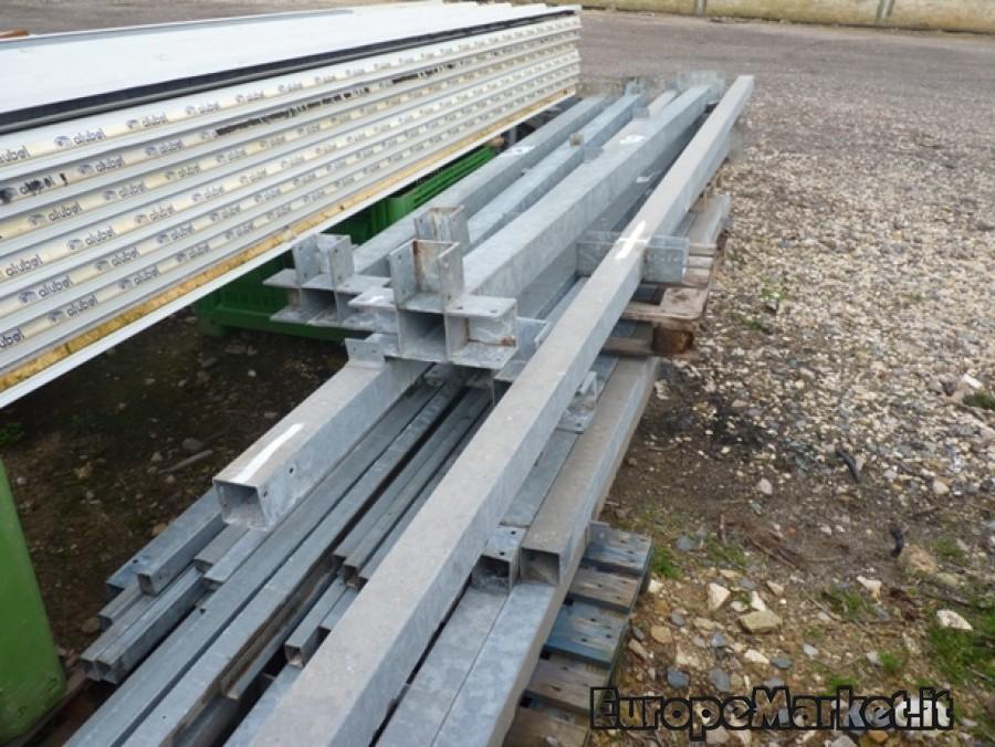 capannone industriale in ferro zincato 100 mq europe market